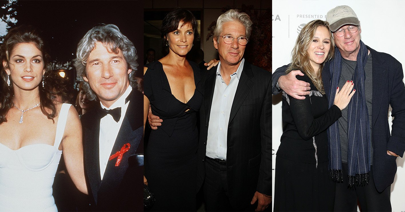 richard gere wives 20 Things You Didn't Know About Richard Gere