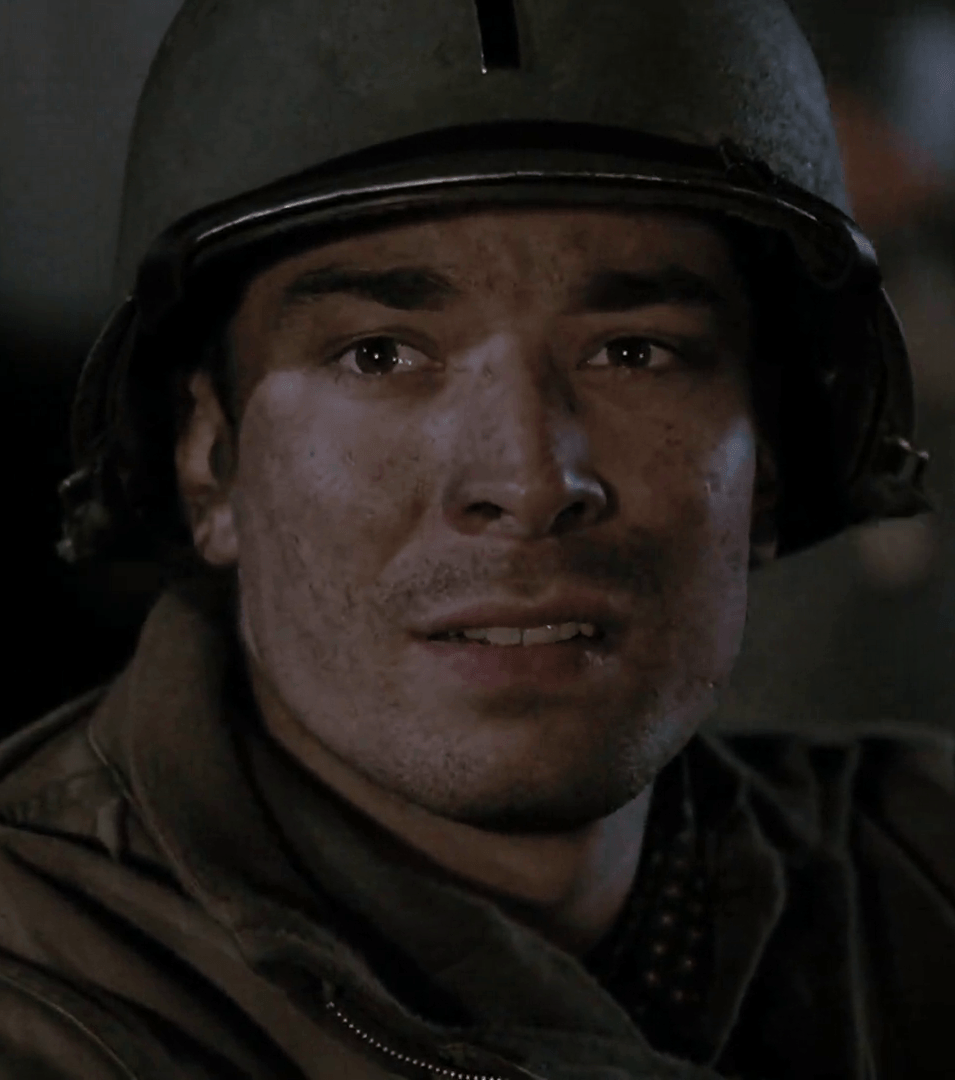Jimmy Fallon as George Rice in Band of Brothers