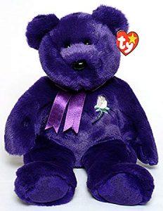 Princess the Bear Beanie baby toy