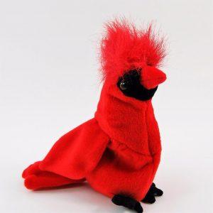 Mac the cardinal beanie