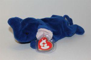 Royal blue Peanut the Elephant