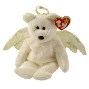 Halo the guardian angel bear