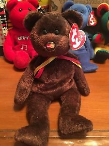 M.C. Beanie Bear