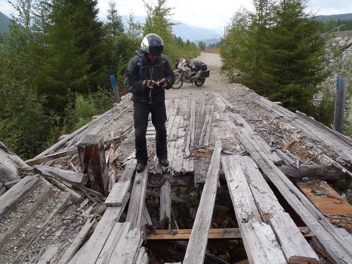 BAM wooden bridge2 10 Of The World's Most Dangerous Bridges