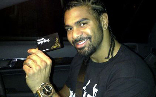 David Haye holds h 3171680b 10 Things You Never Knew About Nando's