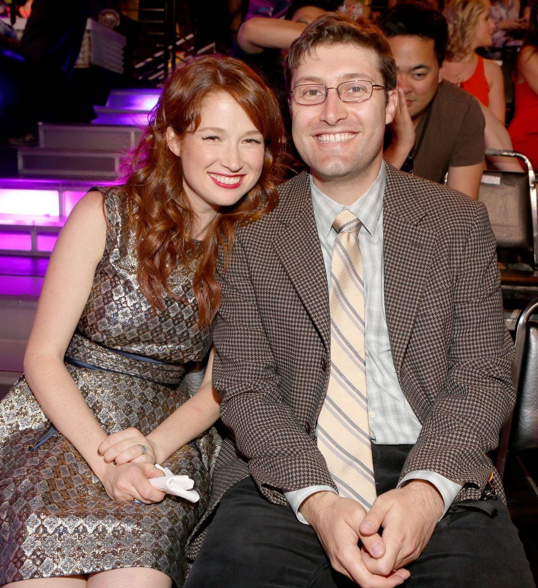 Ellie Kemper with husband Michael Koman at the 2012 Do Something Awards