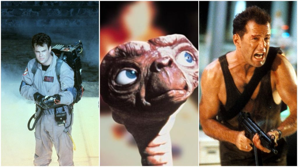 PIC 1 Which Of The 10 Highest Grossing Films Of The 80s Is Your Favourite?