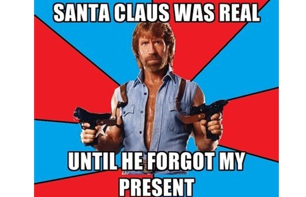 Santa 14 Of The Best Chuck Norris Memes To Make You Smile - Which Is Your Favourite?