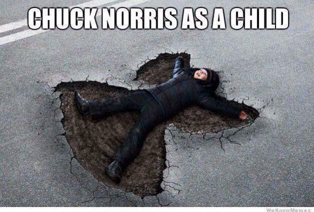 cement angel 14 Of The Best Chuck Norris Memes To Make You Smile - Which Is Your Favourite?