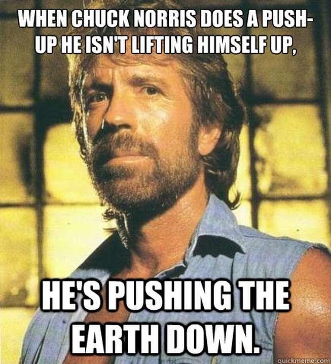 push up 14 Of The Best Chuck Norris Memes To Make You Smile - Which Is Your Favourite?
