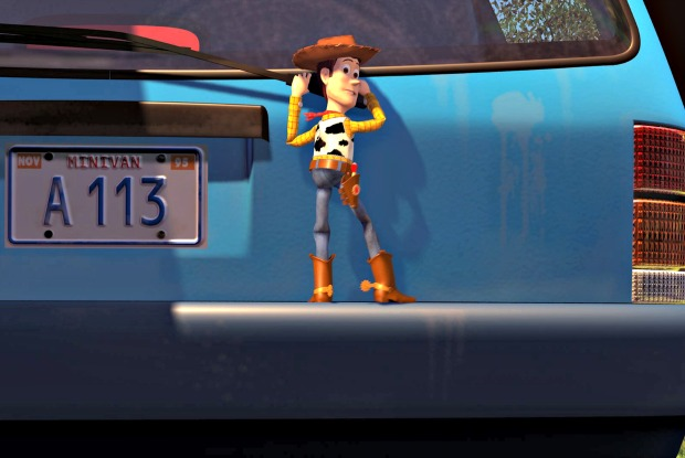 toy story a113 21 Of The Cheekiest Easter Eggs You Missed In Pixar Movies