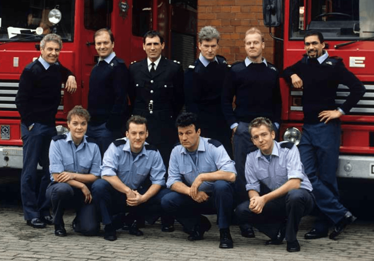 Picture of the original London's Burning cast