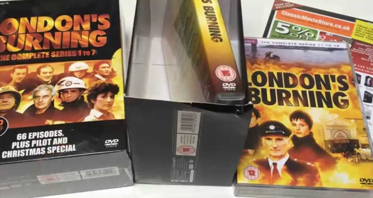 Video and DVD boxsets of London's Burning