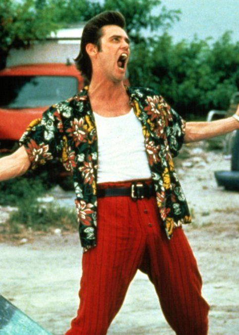 Ace Ventura From Ace Ventura Pet Detective 24 Things You Didn't Know About Bruce Almighty