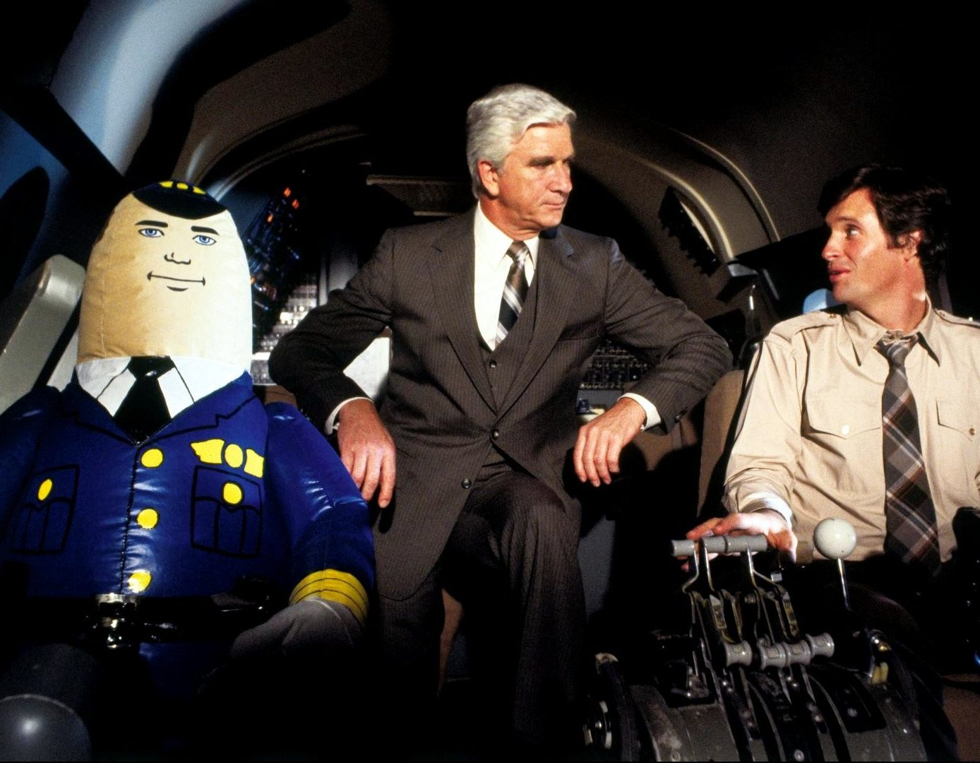Airplane movie with the autopilot e1604925917670 Tonight We're Gonna Rock You With 30 Facts About This Is Spinal Tap!