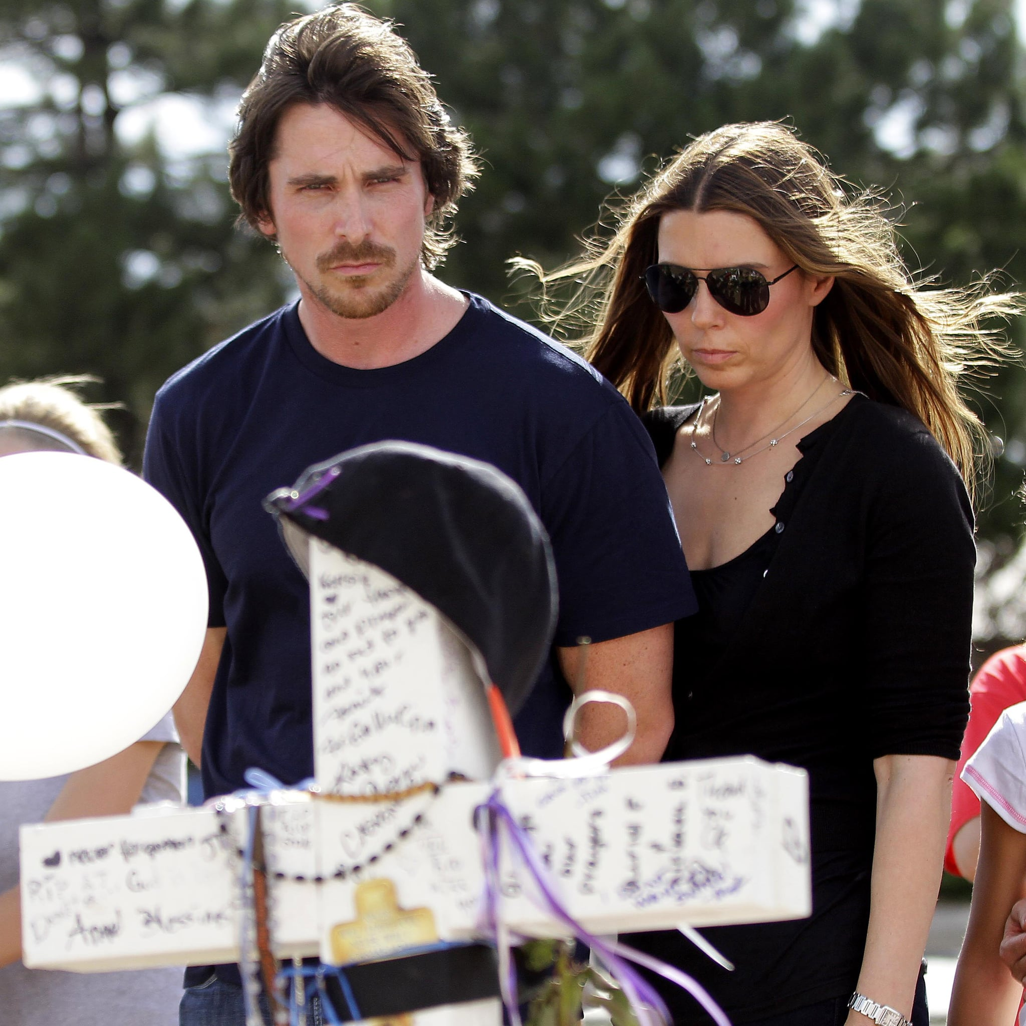 Christian Bale Aurora Shooting Memorial Pictures 25 Things You Didn't Know About The Dark Knight Rises