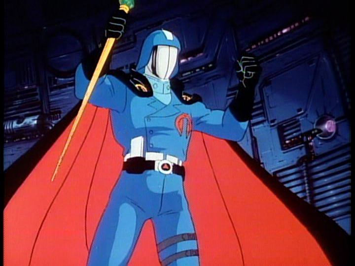 GI Joe Cobra Commander 10 Villains From 80s Cartoons Who We All Loved To Hate Growing Up