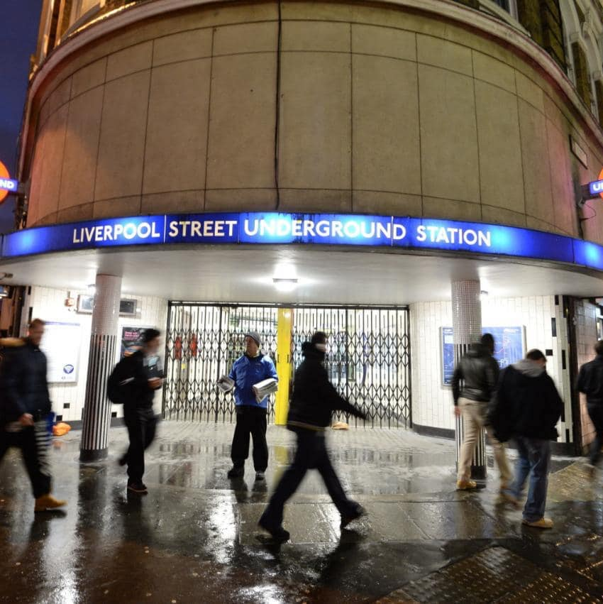 JS117447621 liverpool street tube strike NEWS The 20 Worst Tube Stations In London