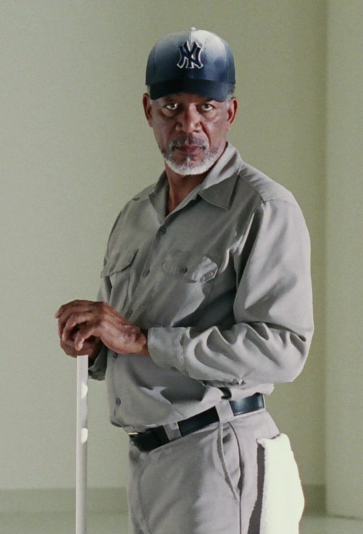 New York Yankees Baseball Team Cap Worn by Morgan Freeman in Bruce Almighty 2 24 Things You Didn't Know About Bruce Almighty