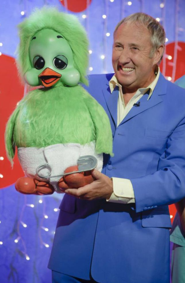 Orville with Keith Harris