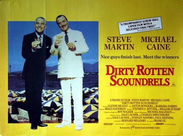 PIC 1 3 12 Dirty Rotten Facts About Dirty Rotten Scoundrels!