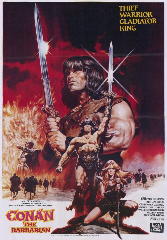 PIC 1 7 12 Heroic Facts You Never Knew About Conan The Barbarian!