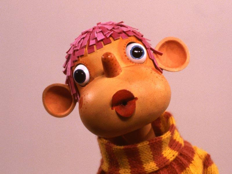 Pop the puppet from Pob's Programme