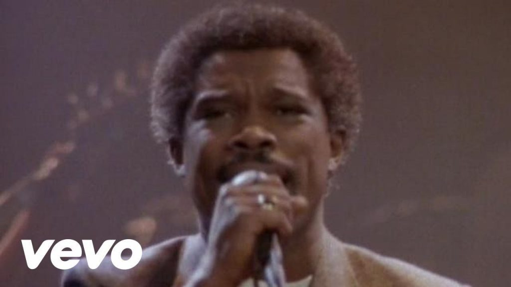 Billy Ocean in the Vevo music video for his song 'When the going gets tough, the tough get going'