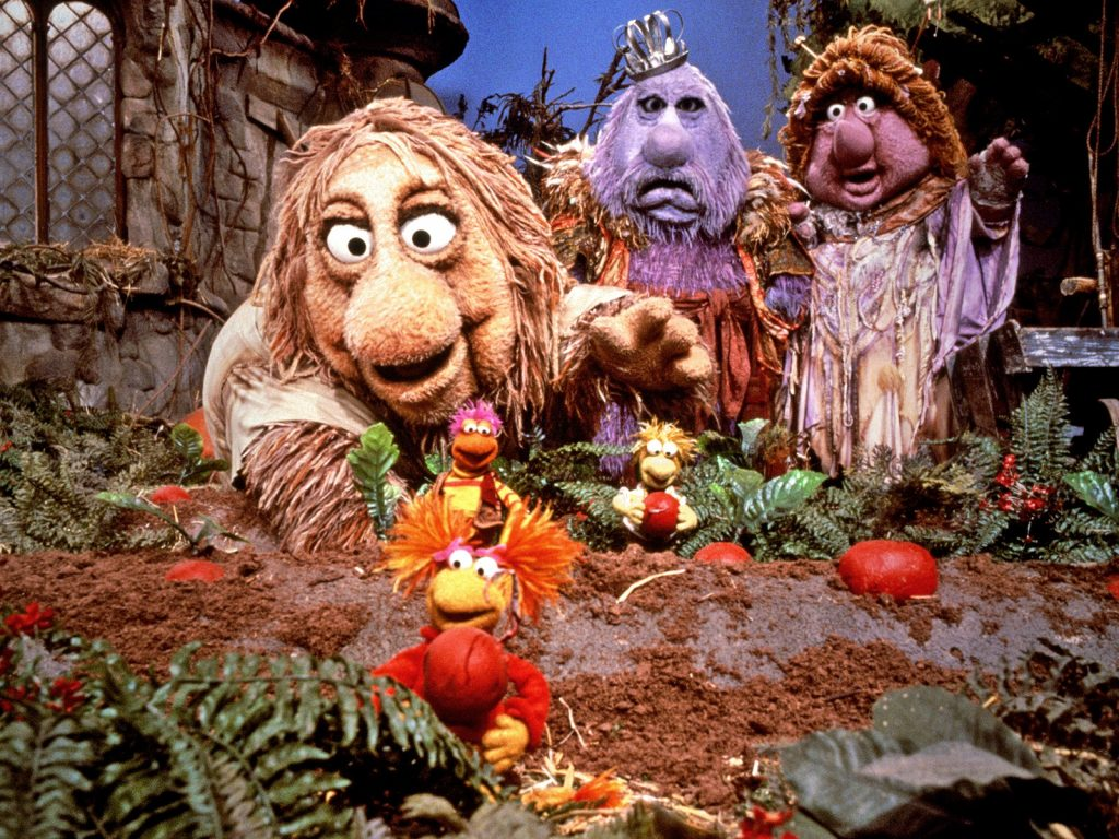 The Fraggles from Fraggle Rock