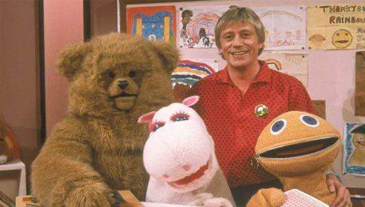 Zippy, George and Bungle from Rainbow