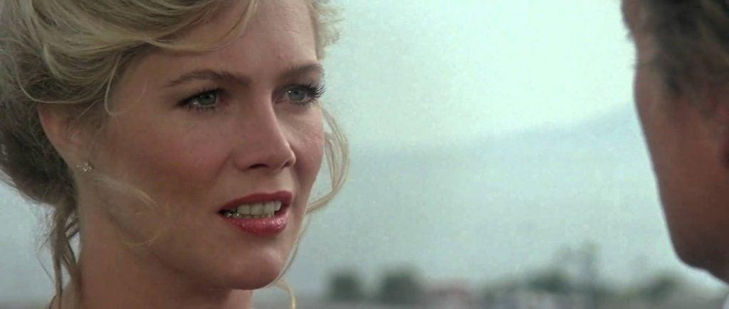 Kathleen Turner as Joan Wilder in The Jewel of the Nile