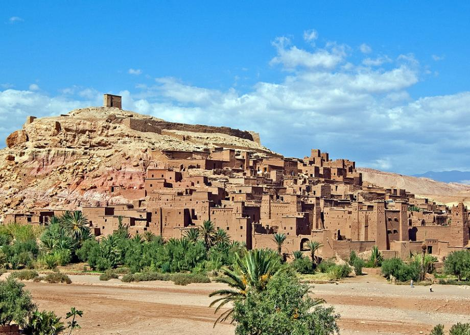 Morocco where The Jewel of the Nile was filmed