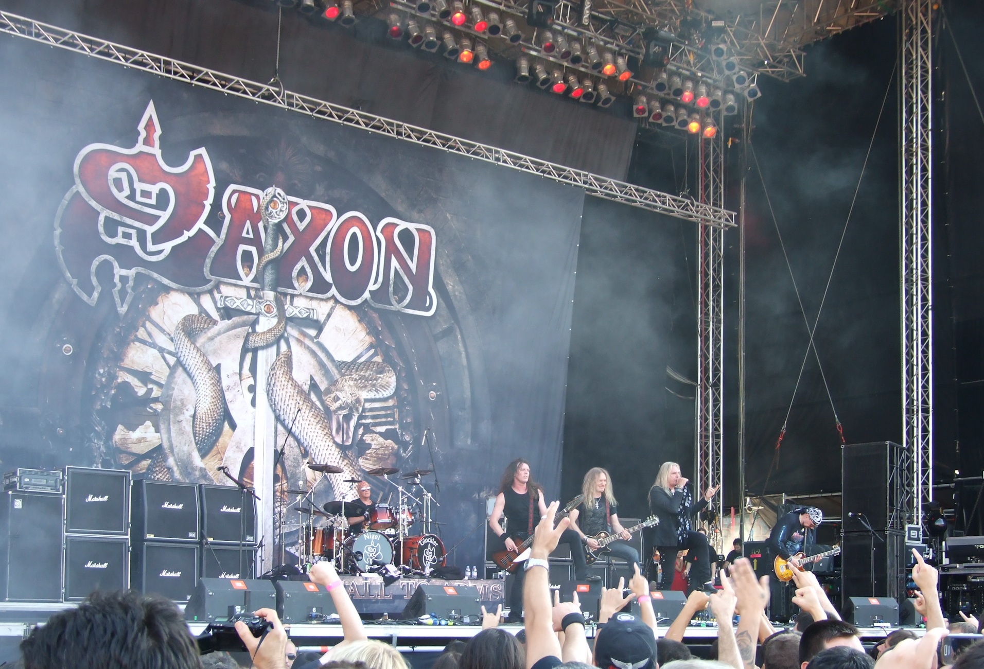 Saxon Sofia Rocks Fest 2011 Tonight We're Gonna Rock You With 30 Facts About This Is Spinal Tap!