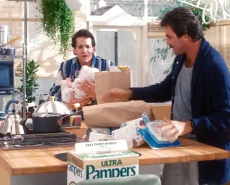 Three Men and a Baby Pampers e1629710091259 20 Things You Probably Didn't Know About Three Men And A Baby