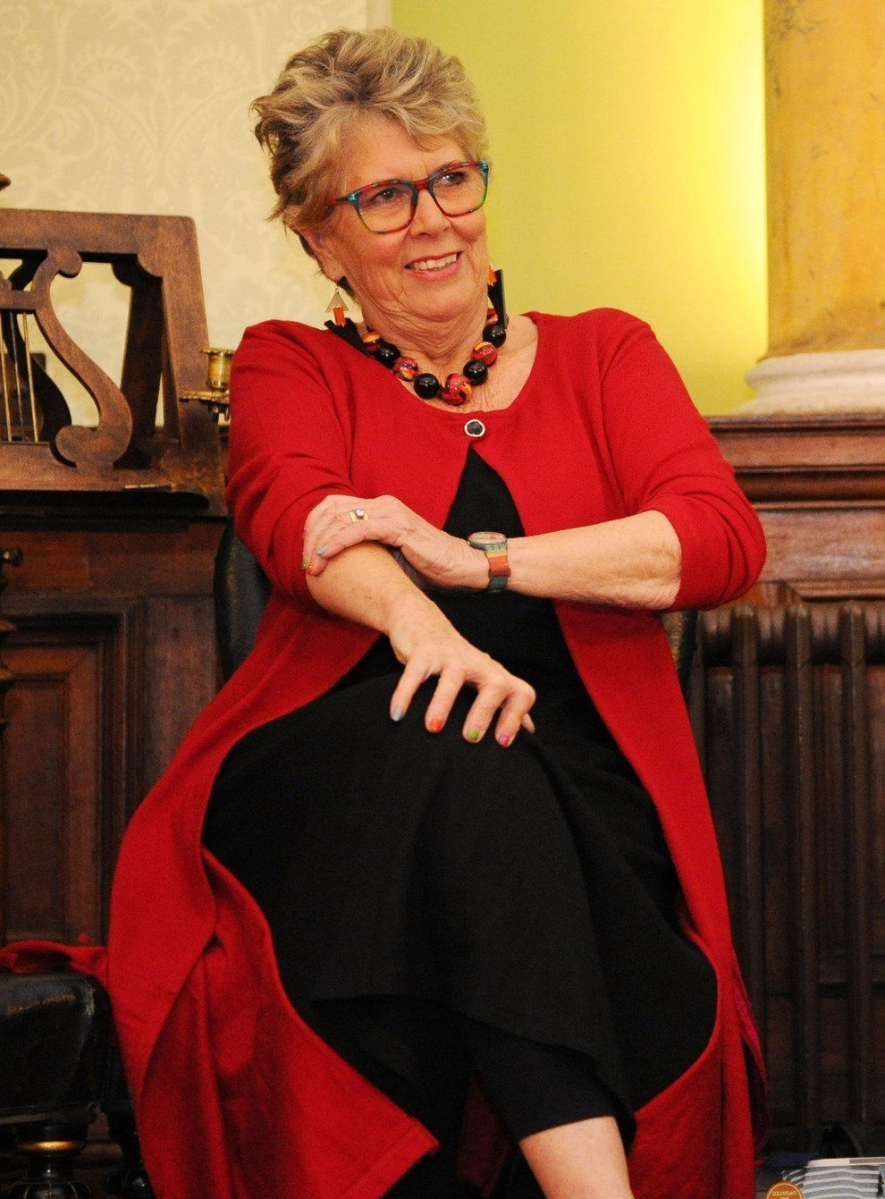 VVYZ4CJDOBE6BBKEKVOQYZF6MI 26 Things You Didn't Know About Bake Off's Prue Leith