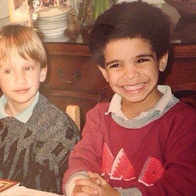 Young Drake wearing collared shirt just too sweet 10 Things You Didn't Know About Drake