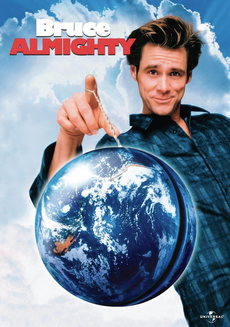 c7435 bruce almighty official poster 24 Things You Didn't Know About Bruce Almighty