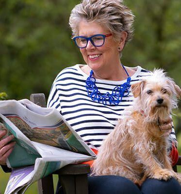 dogs life 26 Things You Didn't Know About Bake Off's Prue Leith