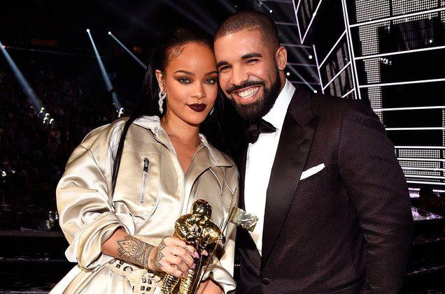 drake and rihanna MTV Vmas backstage 2016 billboard 1548 10 Things You Didn't Know About Drake