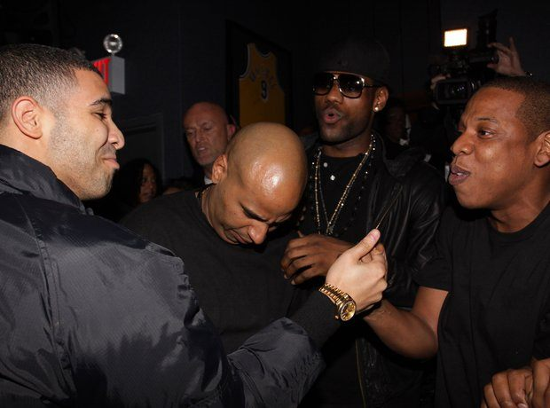 drake og juan perez lebron james and jay z 1396879028 view 0 10 Things You Didn't Know About Drake