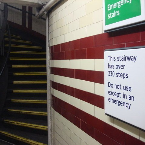 hampstead tube station emergency staircase geograph org uk 1473478 The 20 Worst Tube Stations In London
