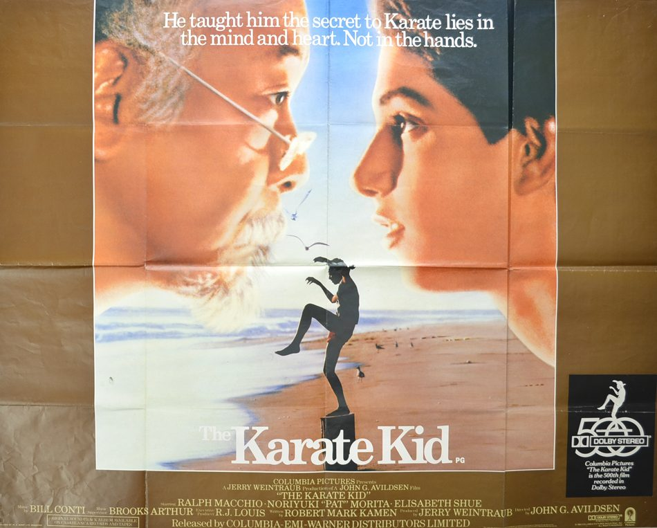 karate kid cinema quad movie poster 1 e1604488115597 20 Secret Facts About The Karate Kid