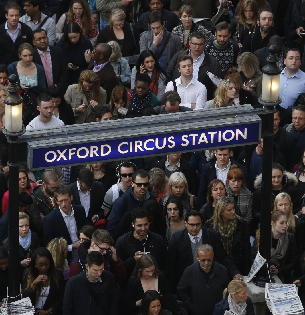 oxford circus tube station The 20 Worst Tube Stations In London
