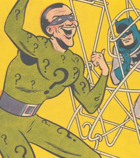 riddler detective comics 25 Things You Didn't Know About The Dark Knight Rises