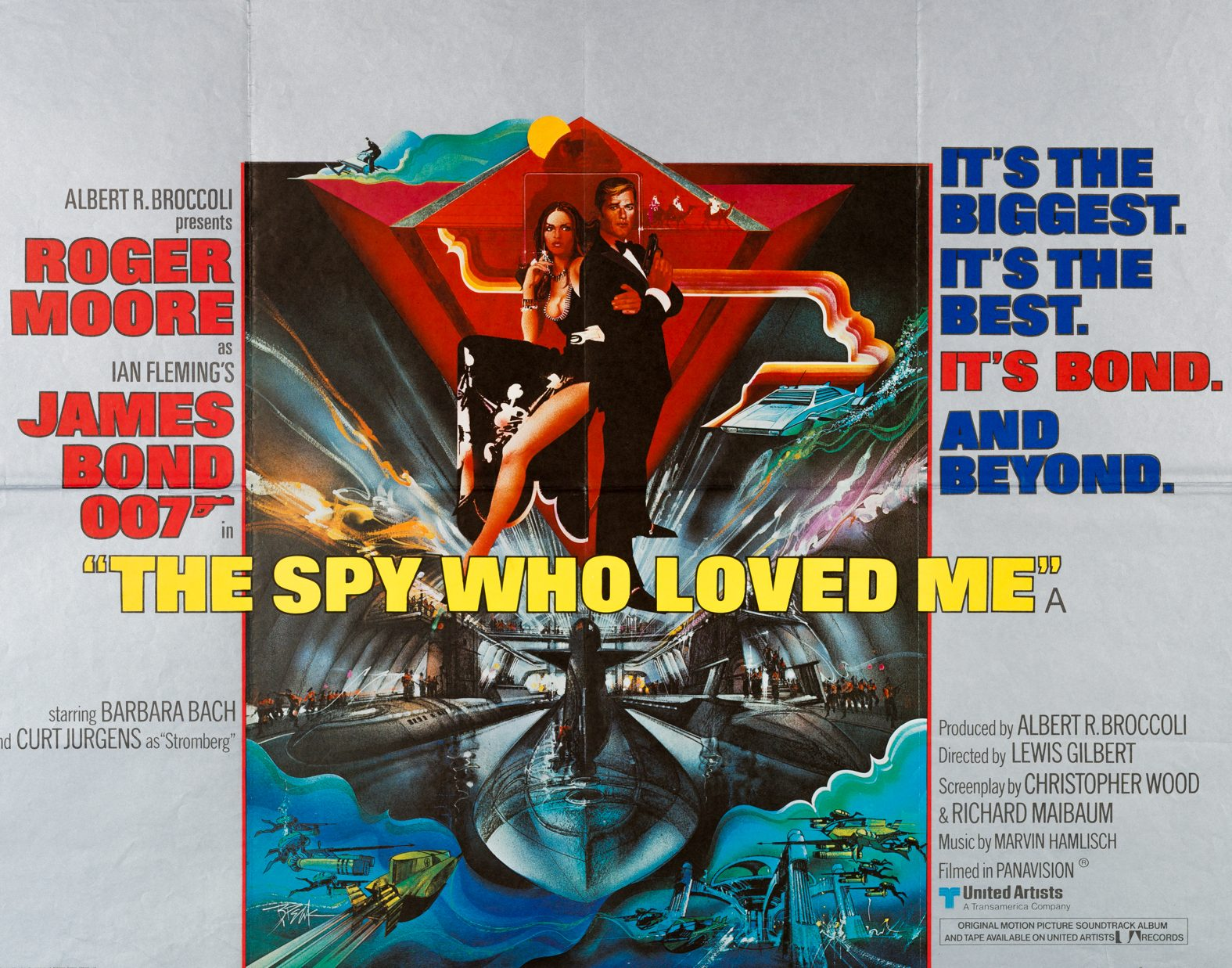 007 spy who loved me UKquad e1615381507760 Keeping The British End Up With 10 Facts About The Spy Who Loved Me