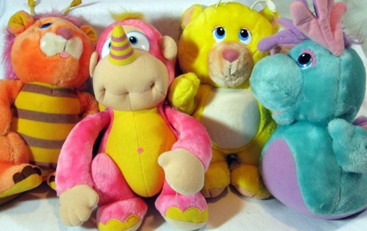 10 4 10 Cuddly Toys All 80s Girls Wanted!