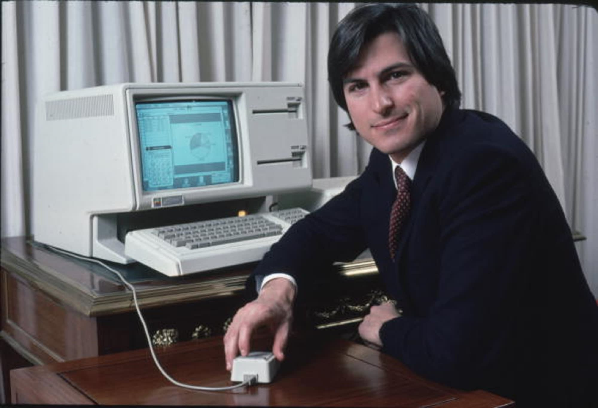 105424992 1535642827752stevejobslisa 92925465 594x594 1 11 Of The Most Influential People Of The 1980s