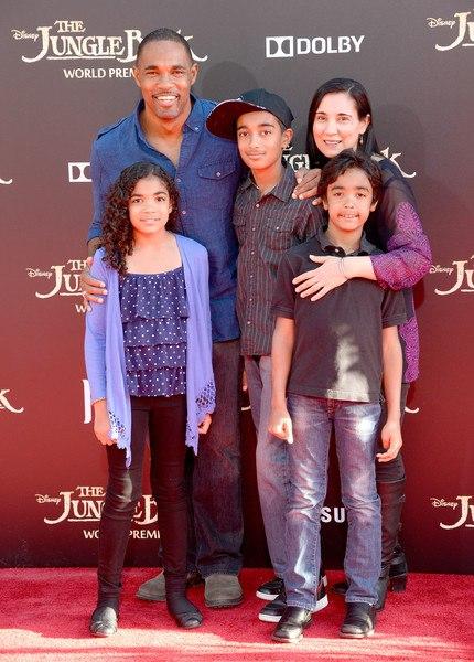 Grey's Anatomy Star Jason Winston George with his real-life partner Vandana Khanna