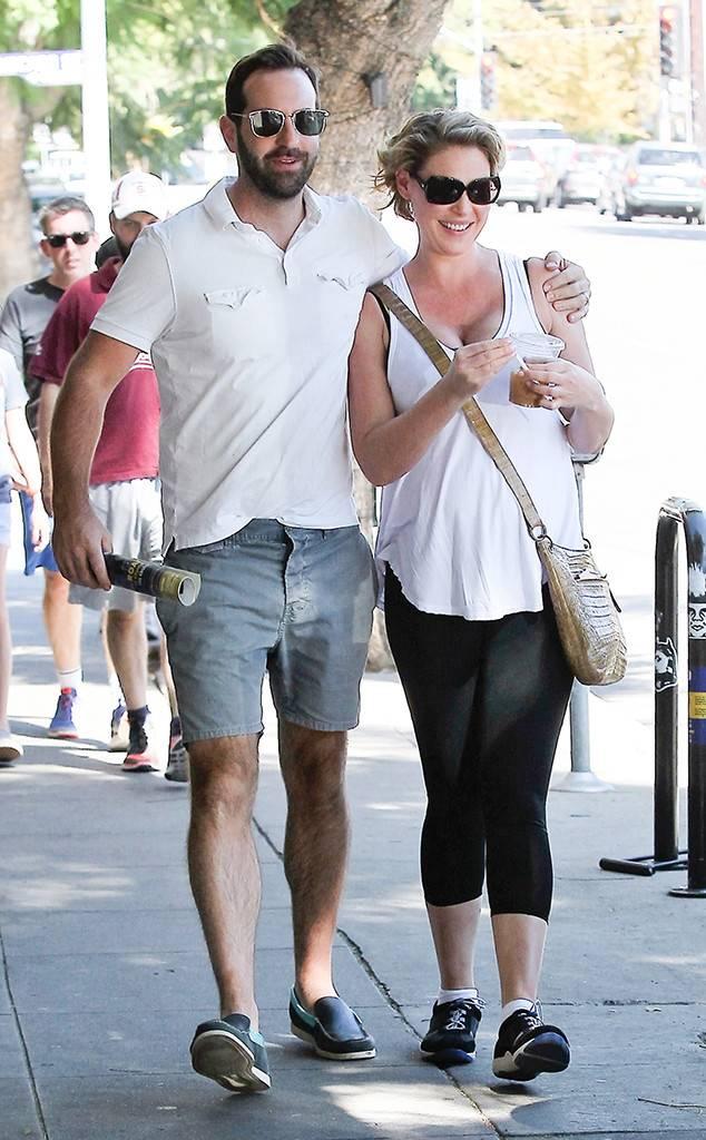 Grey's Anatomy Star Katherine Heigl with her real-life partner Josh Kelley