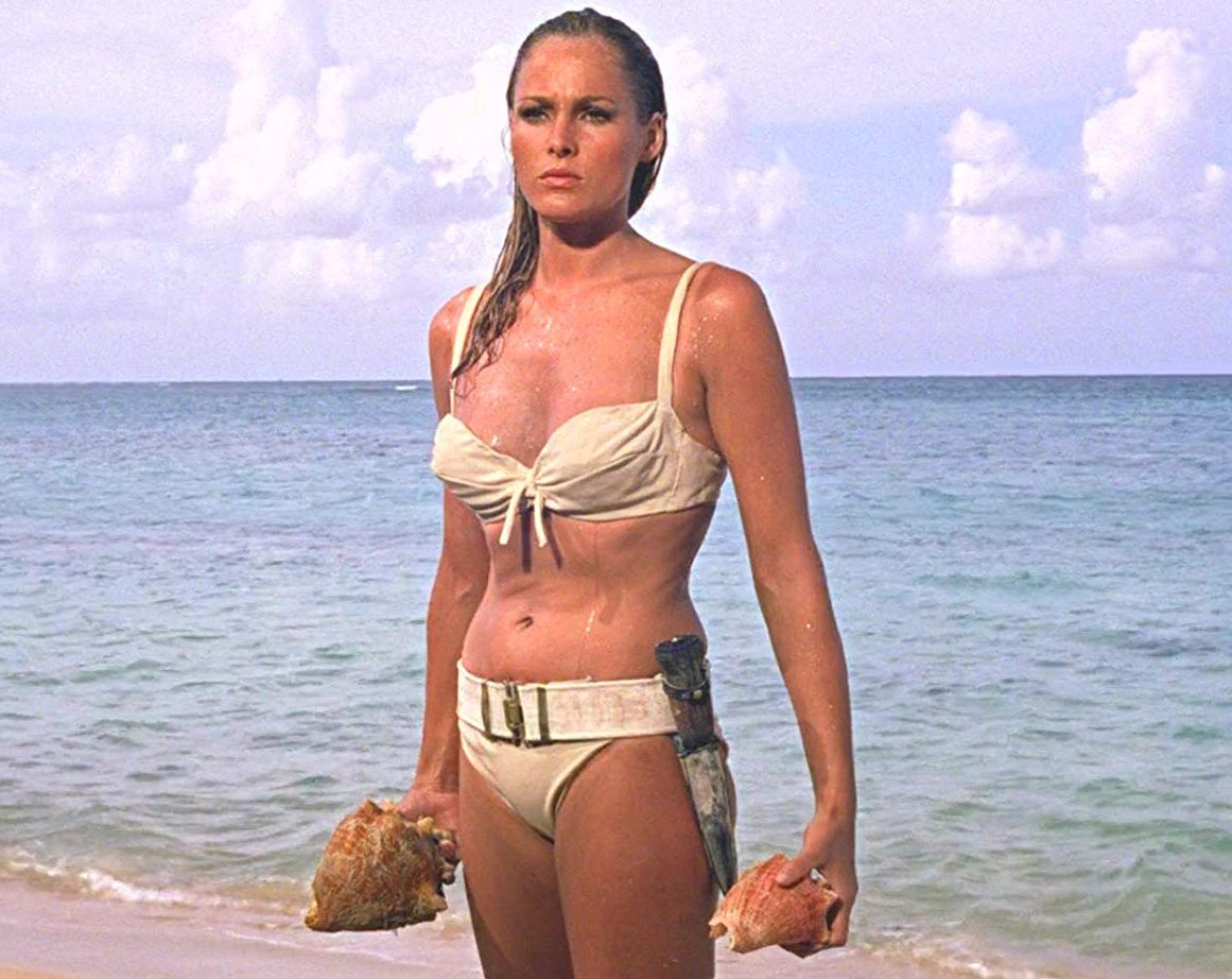 190723145317 ursula andress dr no bikini style e1615306119885 30 Things You Probably Didn't Know About The James Bond Films